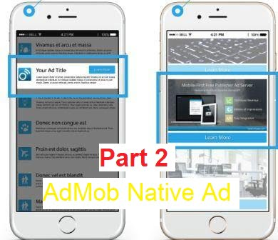 admob native ads advanced