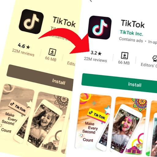 tiktok rating news