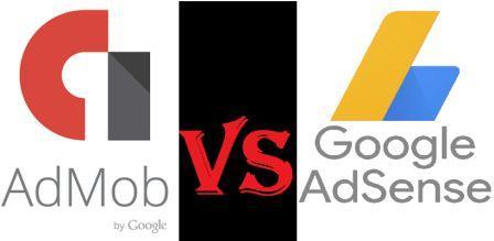 adsense vs admob earning